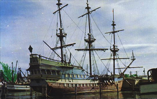 russian xvii century navy sailing ship oryol
